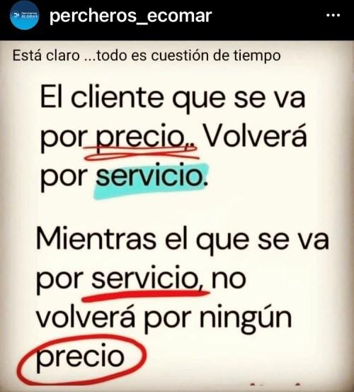 Servicio al cliente ante todo!!